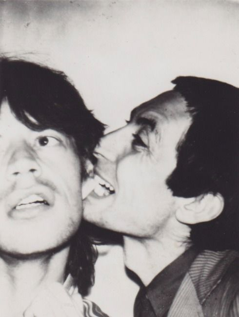 Andy Warhol - The Rolling Stones 'biting session' - 1977