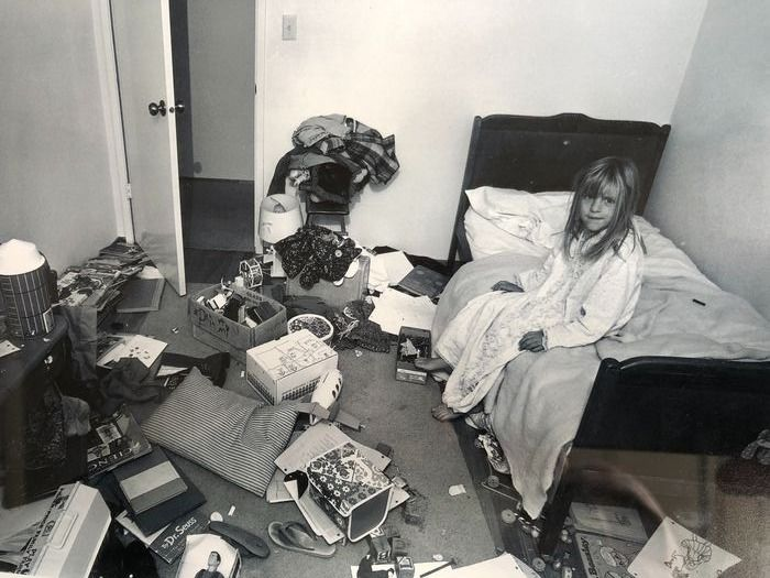 Bill Owens (1938-) - I wanted Christina to learn some responsibility for cleaning her room, but it didn't work, 1970