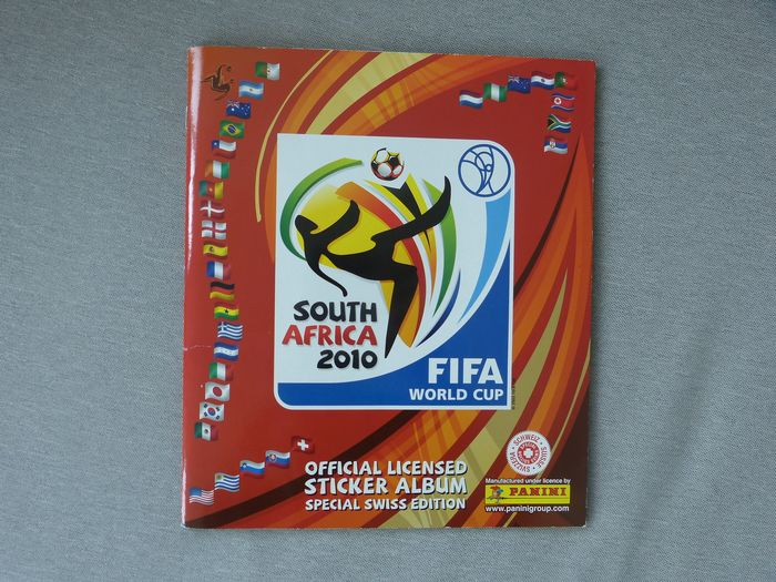 Panini - World Cup 2010 South Africa - Álbum completo