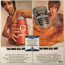 The Who - Pete Townshend - The Who Sell Out - Hand-Signed Vinyl Record Album (Beckett COA) - 2015/1967