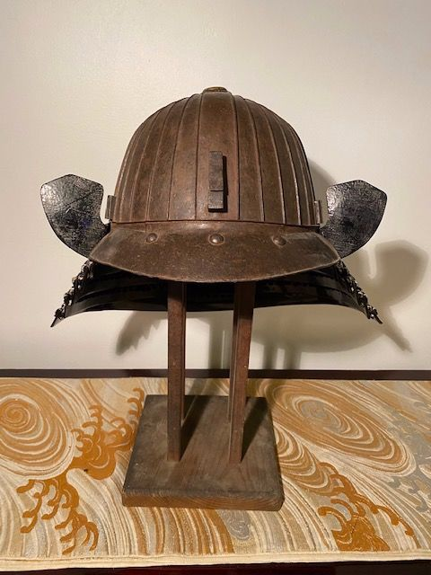 Helm (1) - Staal - Japan - Muromachi periode (1333-1573)
