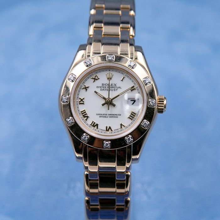 Rolex - Lady-Datejust Pearlmaster - 69318 - Women - 1990-1999