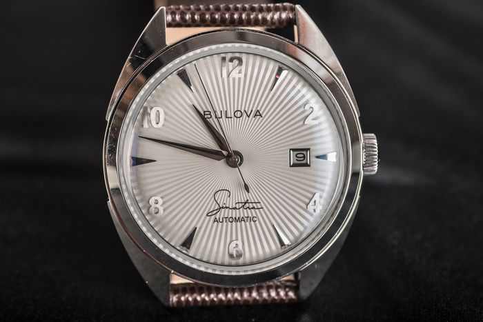 "Bulova - Frank Sinatra Collection - ""Fly Me To The Moon"" - BU96b347 - Men - 2020"