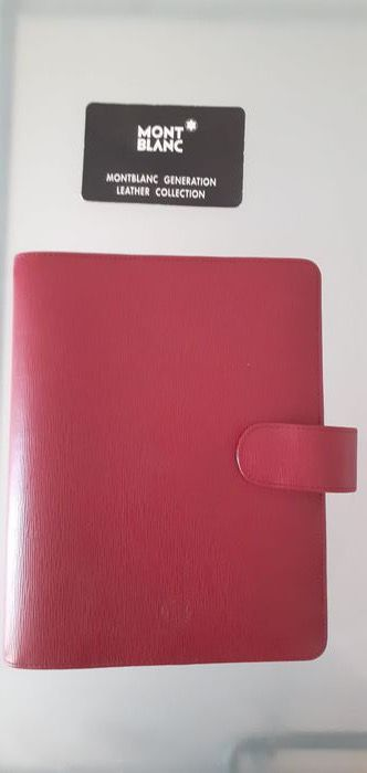 Montblanc - DIARY/ORGANISER - LEATHER COLLECTION of 1