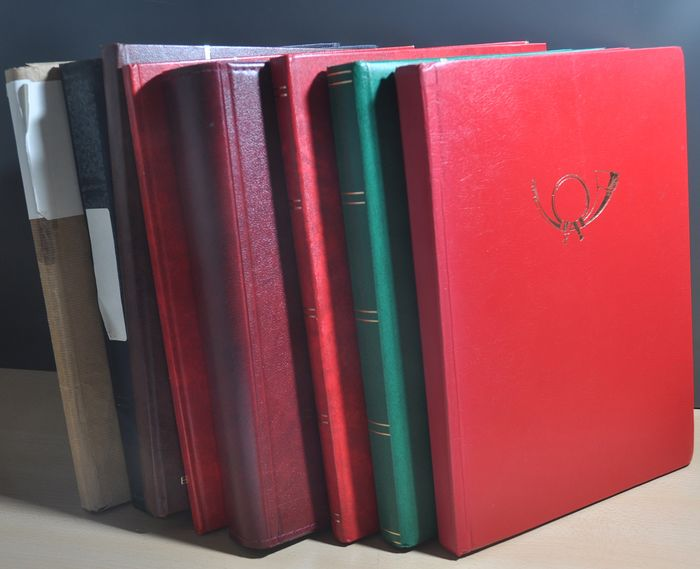Welt - Batch with various countries in various stock books