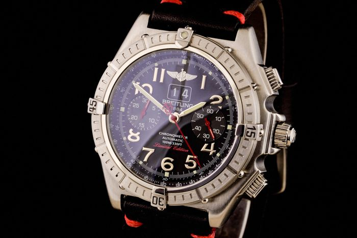 """Breitling - Crosswind Special Limited Edition Chronometer Chronograph - """"NO RESERVE PRICE"""" - A44355 - Men - 2000-2010"""