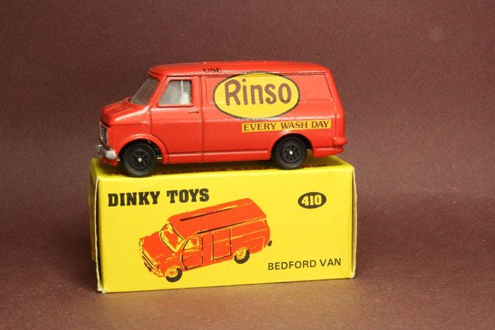 Dinky Toys - 1:43 - Bedford van - Dinky Toys 410 Rinso