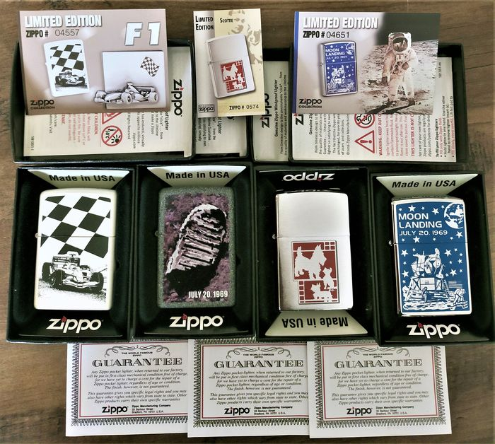 Zippo - Pocket lighter - Limited Edition of 4
