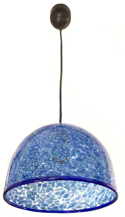 Gae Aulenti - Vistosi - Suspension (1) - neverrino blu