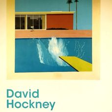 David Hockney - Affiche originale d'exposition - New York - 2017