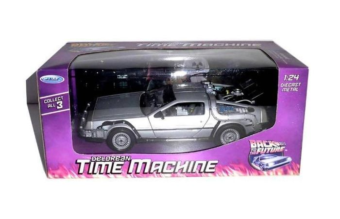 Ritorno al futuro - Welly - 1:24 - Statuetta/e, Veicolo DeLorean Time Machine