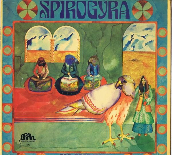 Spirogyra (Folk Rock, Prog Rock) - Old Boot Wine - Álbum LP - 1972