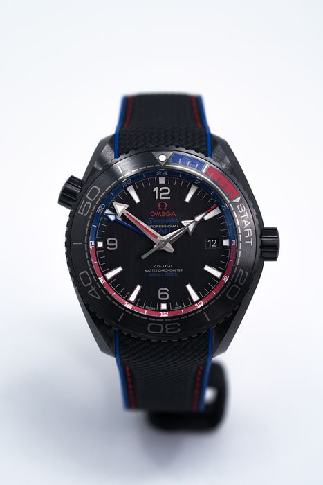 Omega - Seamaster Planet Ocean 600M CO‑AXIAL MASTER CHRONOMETER GMT - 215.92.46.22.01.004 - Hombre - BRAND NEW
