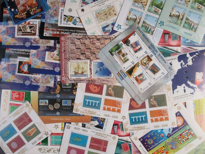 50 Years of Europe 250 Blocks + 60 Small Sheets