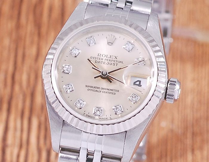 Rolex - Oyster Perpetual DateJust - 69174G - Women - 1990-1999