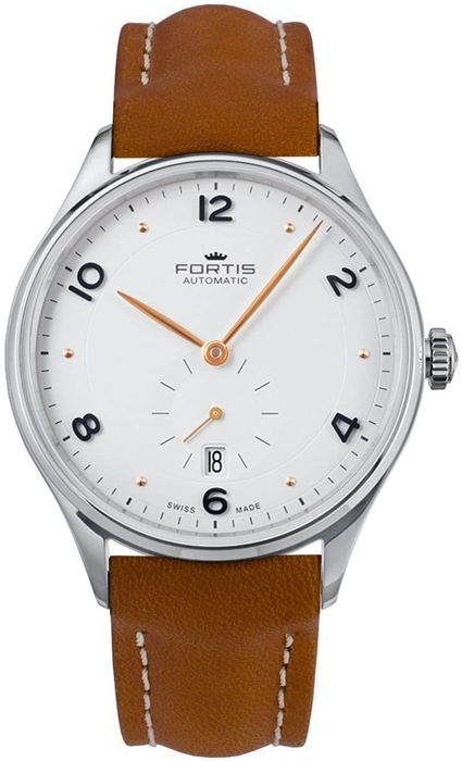 """Fortis - Terrestis Hedonist A.M Small Seconds """"NO RESERVE PRICE"""" - 901.20.12 L08 - Men - BRAND NEW"""