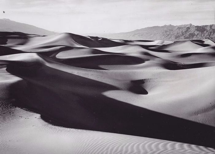 Fred Harvey - Sand Dunes, Death Valley c1940s