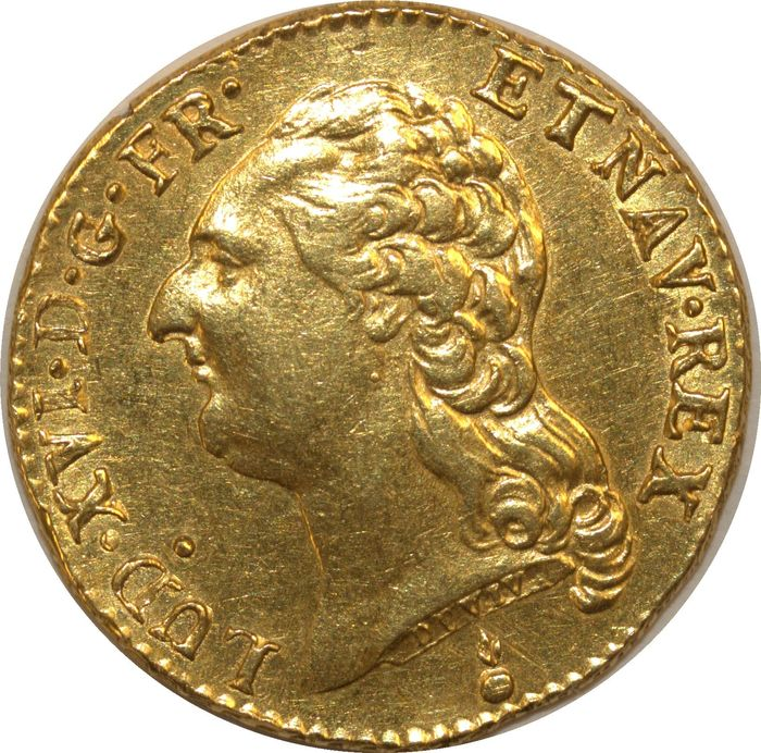 France. Louis d'or 1787-AA (Metz)