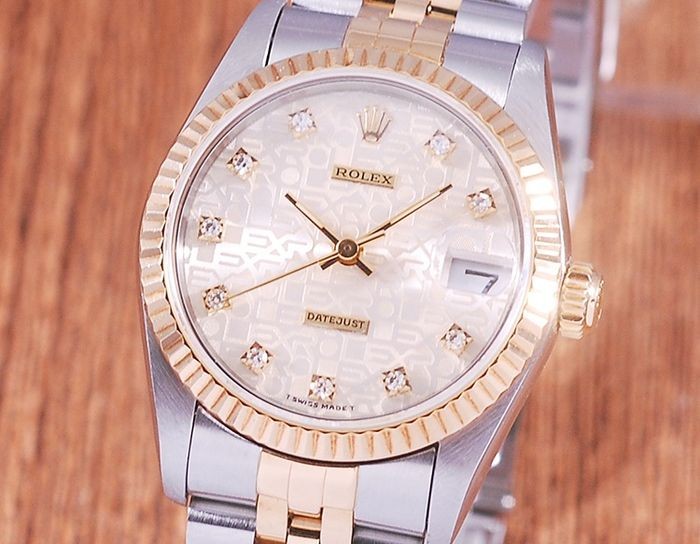 Rolex - Oyster Perpetual Datejust - 68273 - Women - 1990-1999