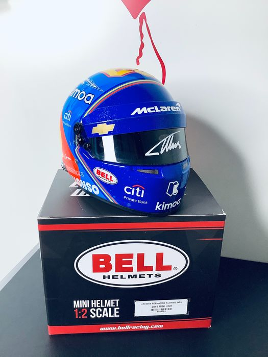 Mclaren - Indy Car - Fernando Alonso - 2019 - 1/2 Scale helmet