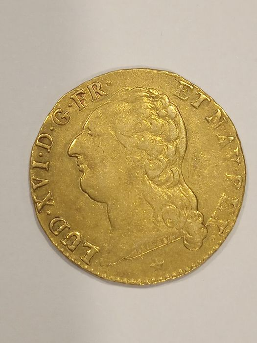 France. Louis d'or 1787-W, Lille