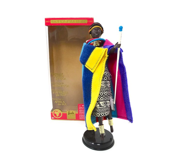 Barbie - Barbie Doll - 56218 - Doll 56218 Barbie Dolls of the World 'Princess of Africa' - 2000-present - North America