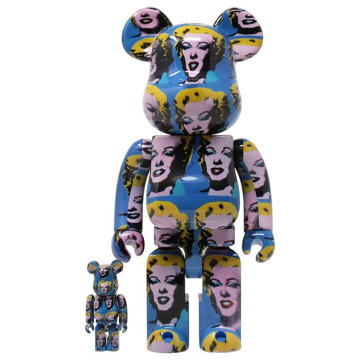 Andy Warhol (after) - Be@rbrick Marilyns 25 colored 400% & 100% Articulated figure
