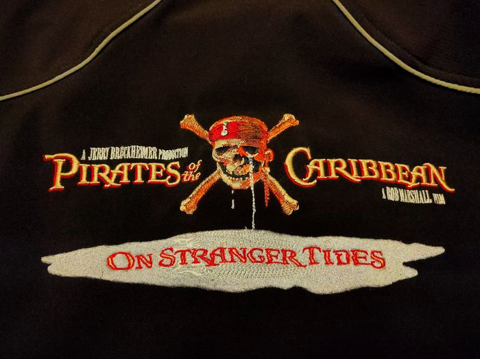 Pirates of the Caribbean: On Stranger Tides - Movie prop - Original Stunt Crew Jacket - Size: S - Owned, but unused by stuntman Pablo Casillas