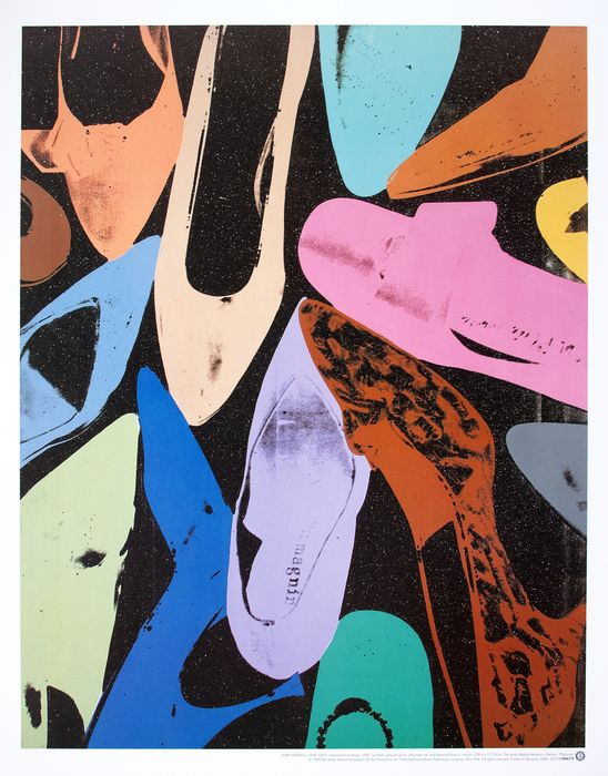 Andy Warhol (after) - Diamond Dust Shoes (1980) - 1992