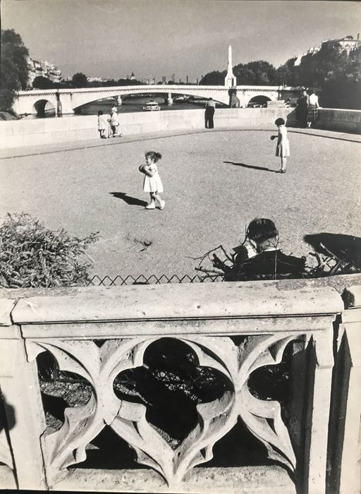 Willy Ronis (1910-2009) - Pointe amont de l'Île Saint-Louis