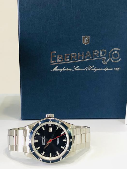 Eberhard & Co. - Champion V Only Time - 41031.3 - Uomo - 2020