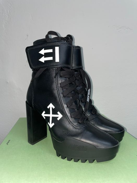 Off White - MOTO - Bottines - Taille: Chaussures / UE 41