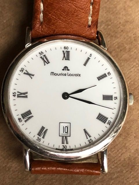 """Maurice Lacroix - Classic Date - """"NO RESERVE PRICE"""" - 90884 - Hombre - 1990-1999"""