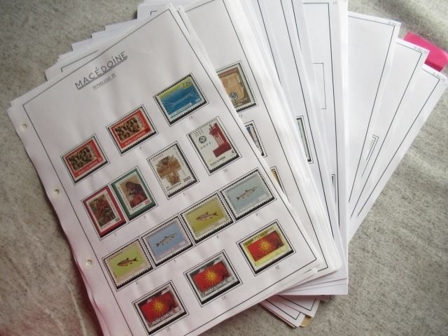 Macedonia 1991/2011 - A very significant collection of stamps.