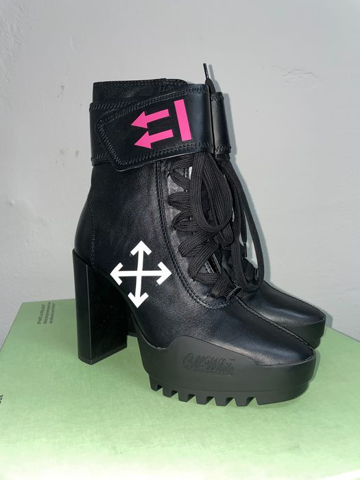 Off White - MOTO - Bottines - Taille: Chaussures / UE 39