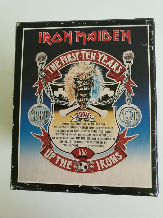Iron Maiden - The First Ten Years - Up The Irons - Diverse titels - Beperkte oplage, CD Boxset - 1990/1990