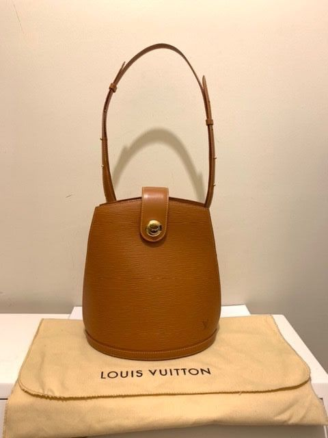Louis Vuitton - Cluny Luxury Epi Brown Nice - Bolso de mano