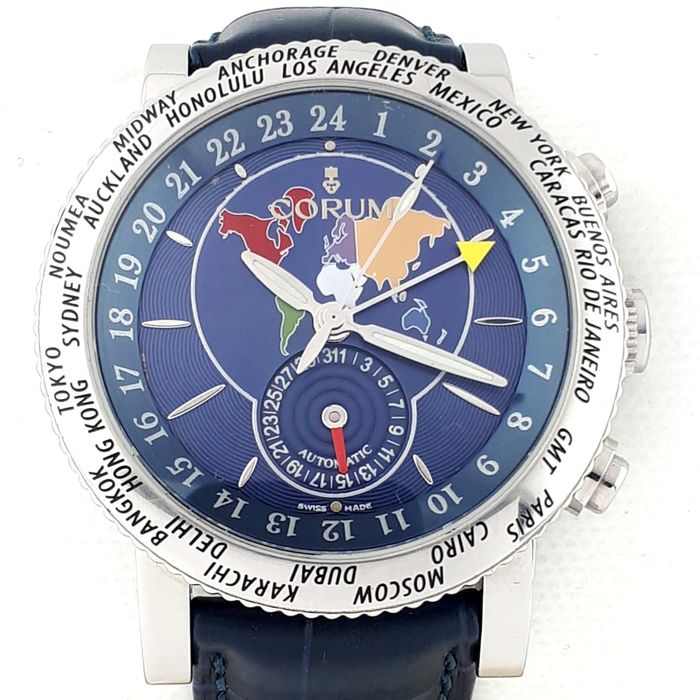 Corum - GMT World Timer Chrono - Ref:  98320120 - Heren - 2011-heden
