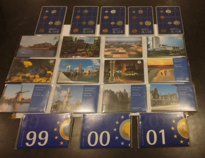 Netherlands. Year Set (FDC) 1982 tm 2001 compleet ,Totaal 20 sets