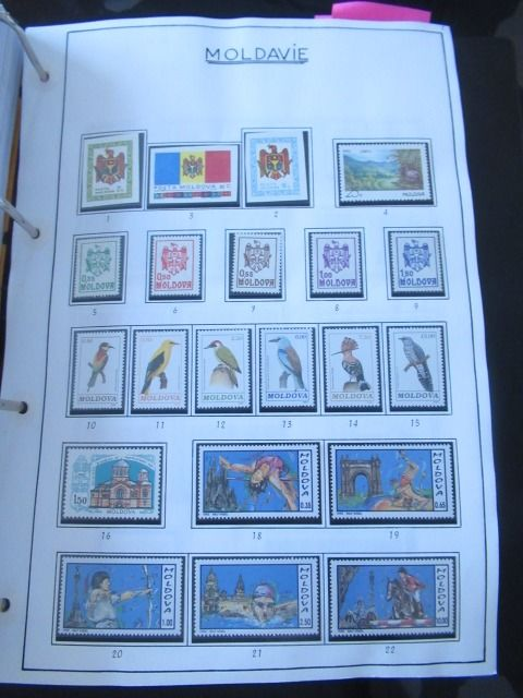 Moldavia 1992/2011 - A very significant collection of stamps