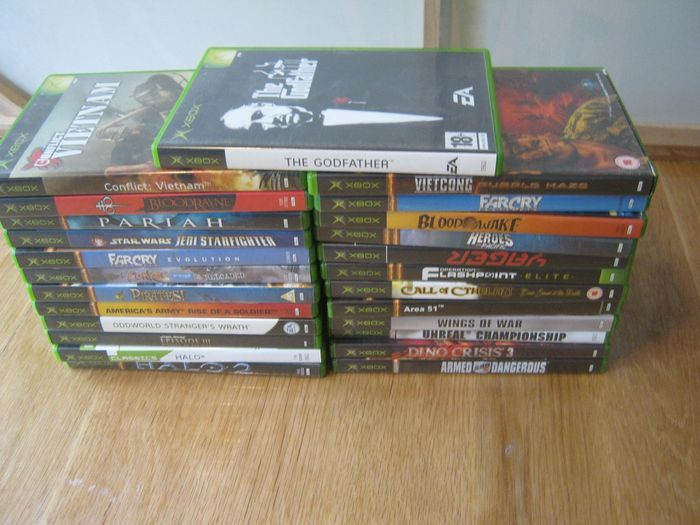 Microsoft Original X-box - X-box 25 real top games,some verry rare! (25) - Scatola originale + libretti.