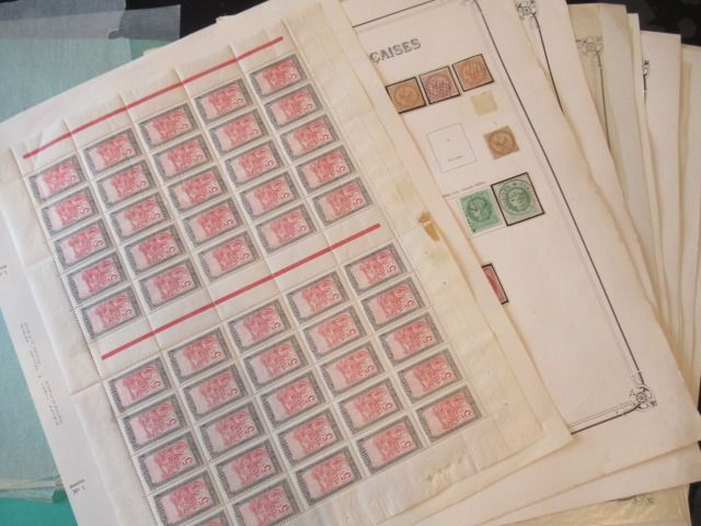Voormalige Franse koloniën - Significant collection of stamps