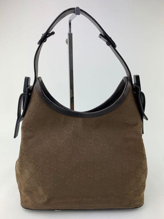 Gucci - GG Brown Canvas - Sac à main