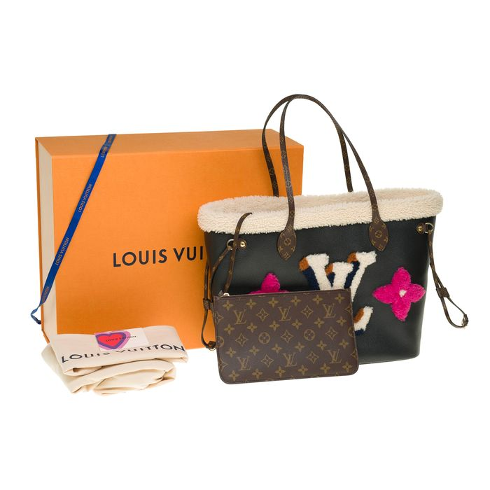 Louis Vuitton - Brand New - Limited Edition - Neverfull MM Teddy - Crossbody Tasche