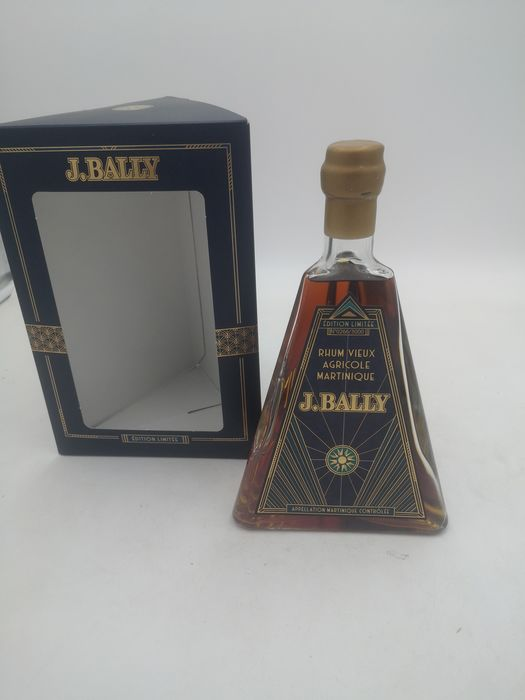 """J. Bally Official bottling - Edition Art Déco French Connections """"Limited Edition"""" - 70cl"""