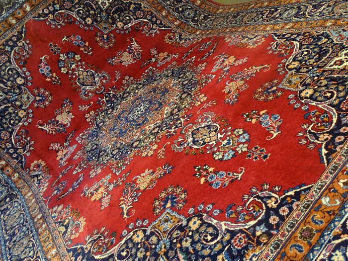 Mesched Signiert - Tapis - 350 cm - 250 cm