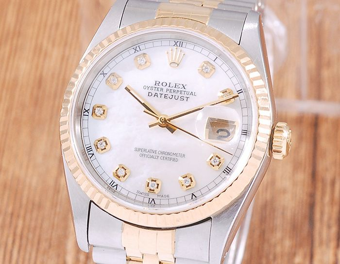 Rolex - Oyster Perpetual DateJust - 16233 - Homme - 1990-1999