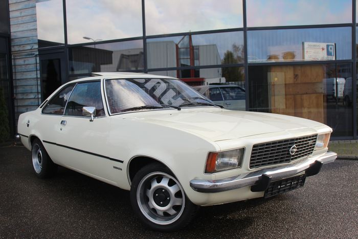 Opel - Rekord D-Coupe 1700 - 1972