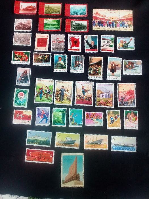 China - Volksrepublik seit 1949 - Approximately 130 stamps