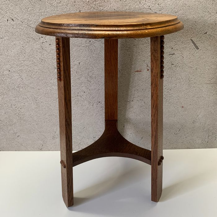 Amsterdamse School - Table d'appoint / plante